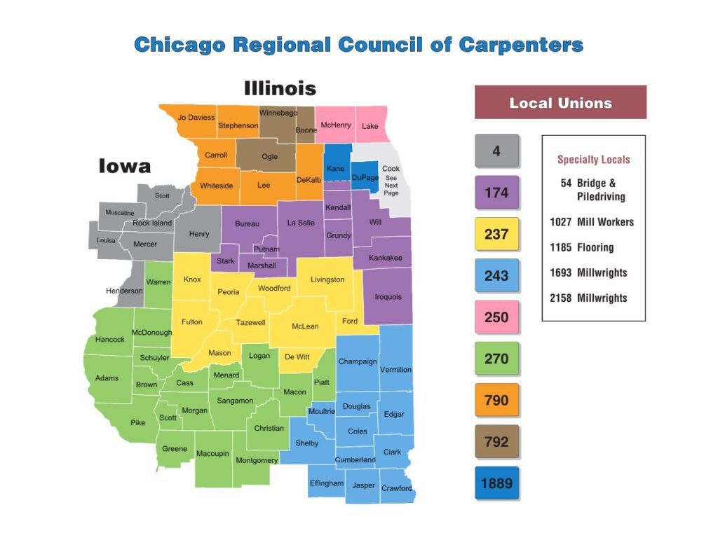 Find Your Local Union Chicago Regional Council Of Carpenters